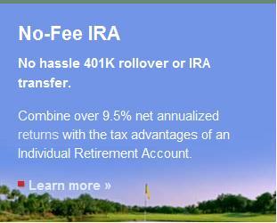 No Fee IRA with Lending Club